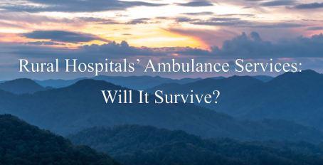 Rural Hospital Amb Service snippet